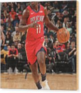 Jrue Holiday Wood Print