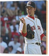 Junichi Tazawa Wood Print