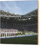 Juventus FC v FC Crotone - Serie A Wood Print