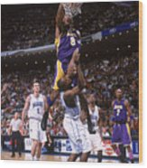 Kobe Bryant and Dwight Howard Wood Print