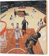 LA Clippers v Memphis Grizzlies Wood Print