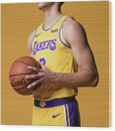 Lonzo Ball Wood Print