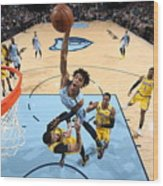 Los Angeles Lakers v Memphis Grizzlies Wood Print