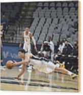 Memphis Grizzlies v San Antonio Spurs Wood Print