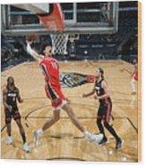 Miami Heat v New Orleans Pelicans Wood Print