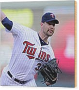 Mike Pelfrey Wood Print