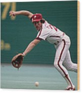 Mike Schmidt Wood Print