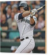 Mike Zunino Wood Print