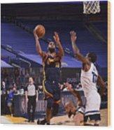 Minnesota Timberwolves v Golden State Warriors Wood Print