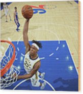 Myles Turner Wood Print