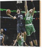 Orlando Magic v Boston Celtics Wood Print