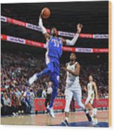 Robert Covington Wood Print
