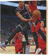 Sacramento Kings v Toronto Raptors Wood Print
