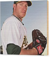 Sean Doolittle Wood Print