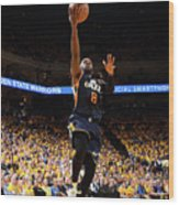 Shelvin Mack Wood Print