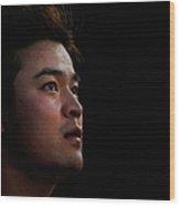 Shin-soo Choo Wood Print