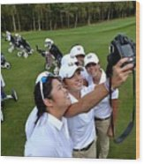 The 2014 Junior Ryder Cup - Previews Wood Print