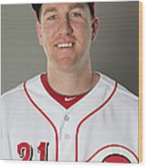 Todd Frazier Wood Print