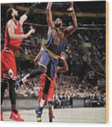 Tristan Thompson Wood Print