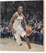 Utah Jazz v San Antonio Spurs Wood Print