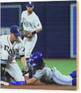 Willy Adames Wood Print