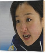 World Women's Curling Championship - Day Five Wood Print