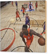 Zion Williamson Wood Print