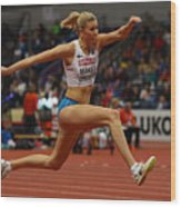 2017 European Athletics Indoor Championships - Day Two Wood Print