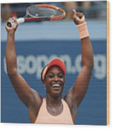 2017 US Open Tennis Championships - Day 9 Wood Print
