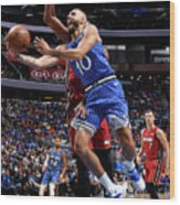 Evan Fournier Wood Print
