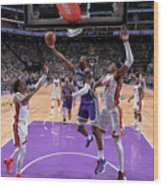 Harrison Barnes Wood Print