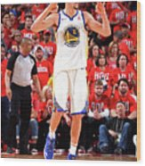 Klay Thompson Wood Print