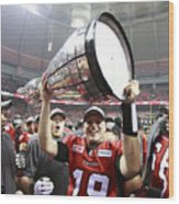 102nd Grey Cup Championship Game Wood Print