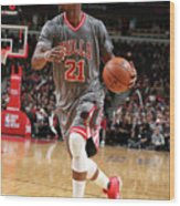 Jimmy Butler Wood Print