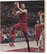 Kevin Love Wood Print