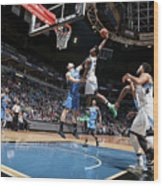Andrew Wiggins Wood Print