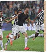 Juventus v Atalanta BC - Serie A Wood Print