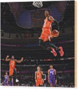 2020 NBA All-Star - Rising Stars Game Wood Print