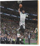 Jaylen Brown Wood Print