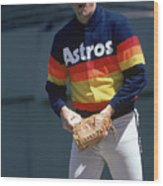 Nolan Ryan Wood Print