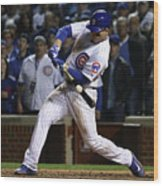Anthony Rizzo Wood Print