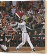 Paul Goldschmidt Wood Print