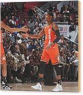 2020 NBA All-Star - Rising Stars Game Wood Print