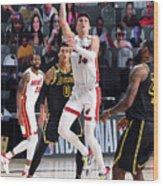 2020 NBA Finals - Miami Heat v Los Angeles Lakers Wood Print