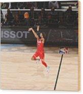 69th NBA All-Star Game Wood Print