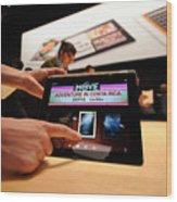 Apple Unveils Updated iPad In San Francisco Wood Print
