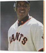 Barry Bonds Wood Print