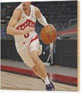 Boston Celtics v Toronto Raptors Wood Print