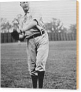 Cy Young Wood Print