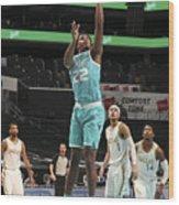Dallas Mavericks v Charlotte Hornets Wood Print